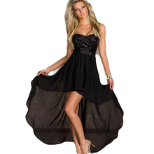 Night Dress Woman Strapless Lace Gown One Piece Dress Sexy Gecelik Stage Performance Costume for Female Erotica Lady CA479