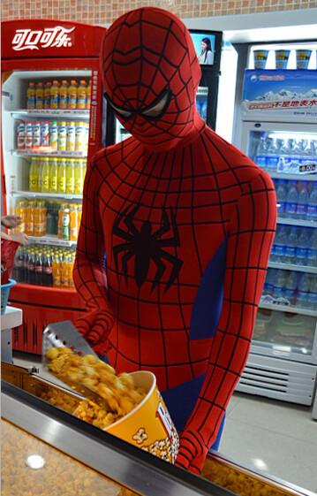 DB23580 Adult spiderman costume-4