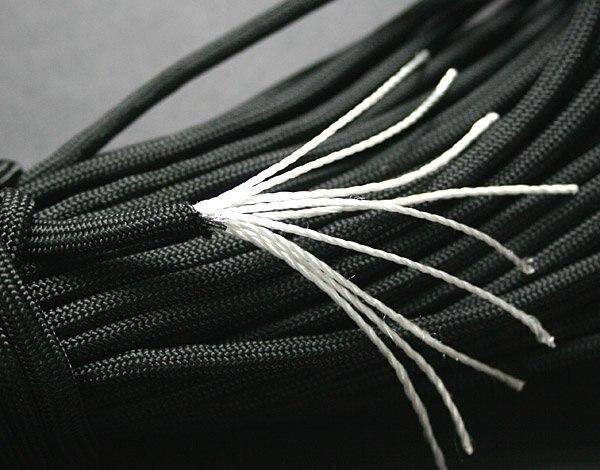 9 жильный шнур 100 футов(31 м) для выживания на открытом воздухе парашютный шнур Паракорд для путешествий набор для выживания инструмент для веревки аксессуары