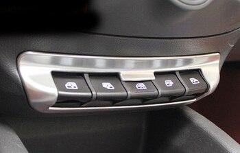 1pc ABS For Chevrolet sail 3 2015-2016 Headlight control sequin / Window button Decorative sticker
