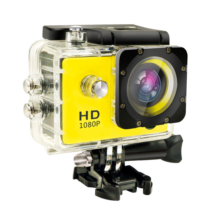 1080P Full HD Outdoor Sport Action Mini Camera Waterproof Cam DV gopro style go pro with Screen Color Water resistant Helmet