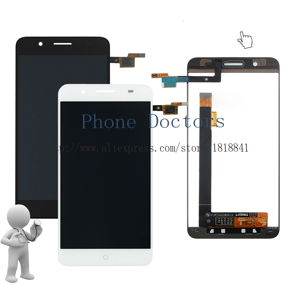 5.2 For ZTE Blade A610 Plus Full LCD DIsplay +Touch Screen Digitizer Assembly For ZTE Blade A610+ New ;100% Tested