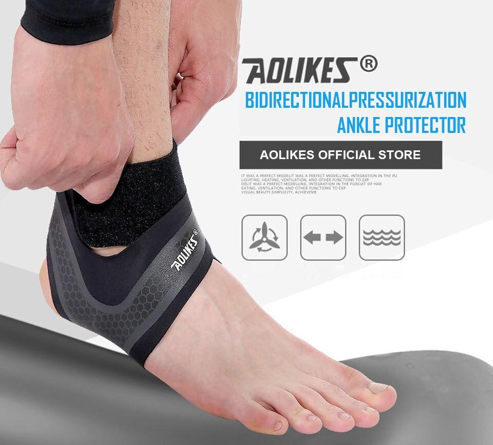 AOLIKES Fitness tobillo Correa gimnasio protección del tobillo ... 8acc81281629b