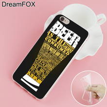 Summer beer cases for iPhone 7 6 6S Plus 5 5S SE 5C 4 4S
