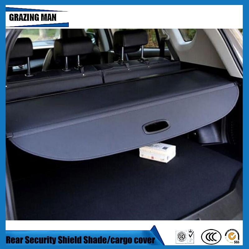 Tonneau Cover Car Rear Trunk Security Shield Shade Black Beige