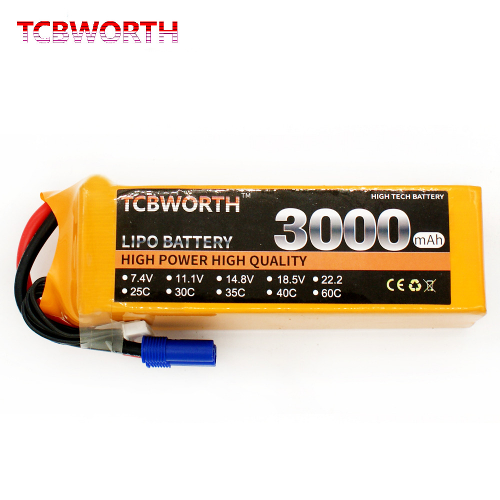 TCBWORTH 6S 22.2V 3000mAh 60C Max 120C RC Drone LiPo battery For RC Airplane Quadrotor Truck AKKU Li-ion battery tcbworth rc helicopter lipo battery 6s 22 2v 2800mah 60c max 120c for rc airplane quadrotor drone li ion battery