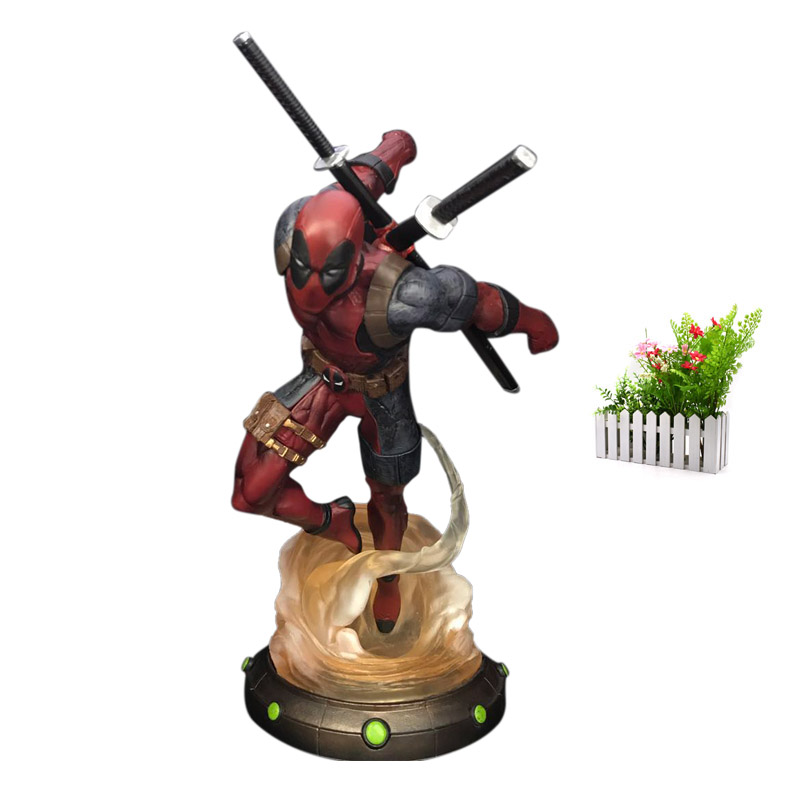 X Men Super Hero Deadpool The 2nd Action Figure PVC Figurine Collectible Model Christmas Gift Toy