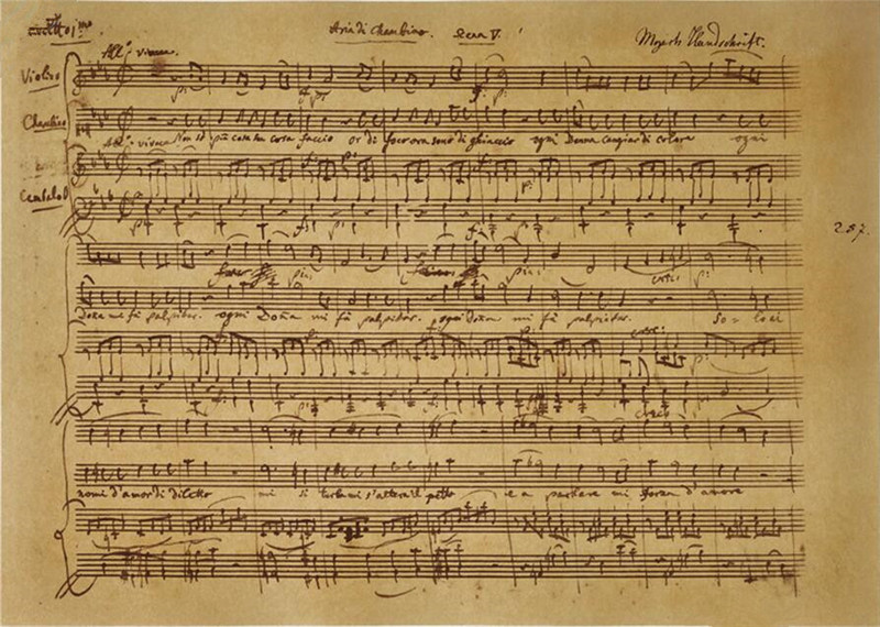 Paper on mozart