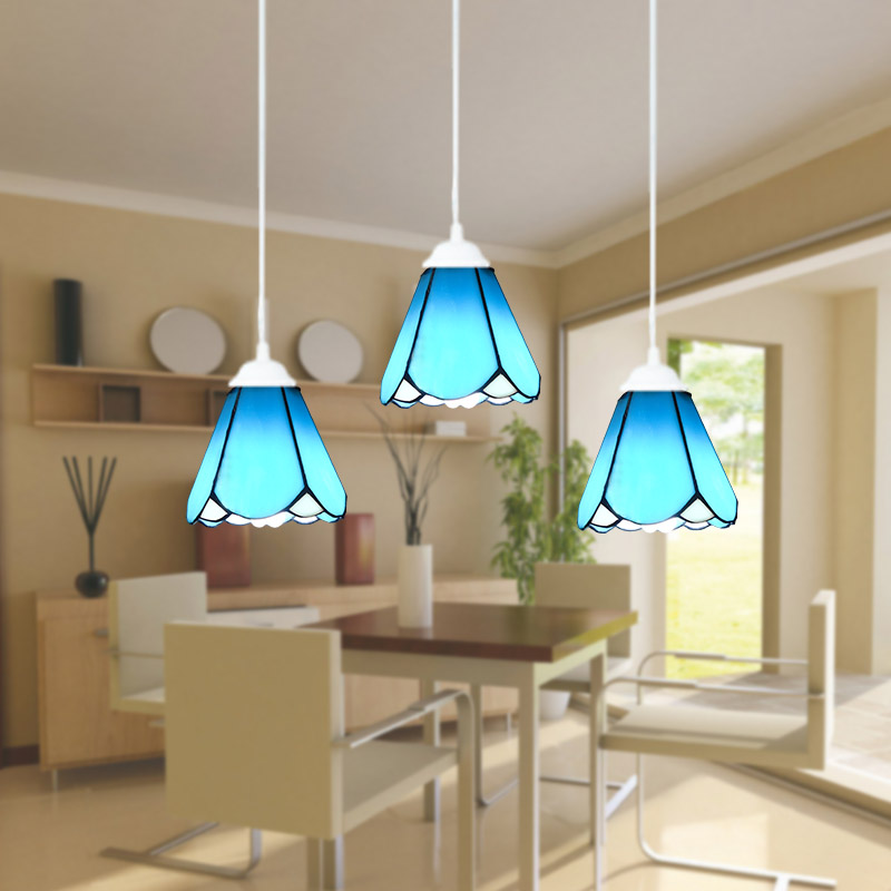15cm European style Mediterranean Stained Glass pendant light for living room restaurant hanging lamp fumat stained glass roses lightings modern art pendant light for living room restaurant lamp european style pendant lamp lights