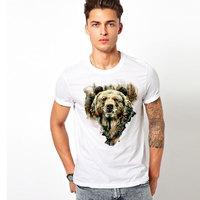 Free Shipping West Bear T Shirt Men S Top Tees Hip Hop Casual O Neck Short