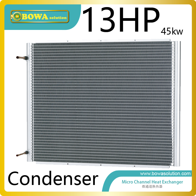 13HP micro-channel heat exchanger working as condenser of refrigeration/cooling units,enabling greater freedom in product design b3 014b 32d copper brazed stainless steel plate heat exchanger working as condenser or evaporator replaces kaori k030 30m gb6