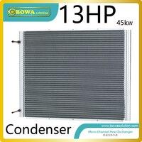 13HP الصغرى قناة مبادل الحرارة يعمل مكثف التبريد/تبريد وحدة ، وتمكين حرية أكبر في المنتج تصميم|refrigerator condenser|condenser heat exchangercondenser refrigerator -