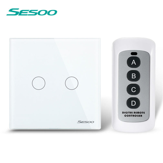 Sesoo Smart Home Automation Module Remote Control Light Touch Switch ...