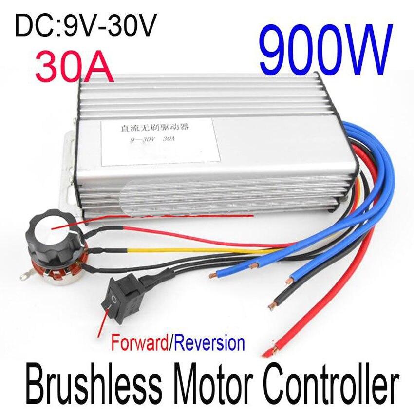 Brushless DC vitesse du moteur contrôleur 12V24V36V48V aucun sens de illimitées drive module inverseur PWM Contrôleur