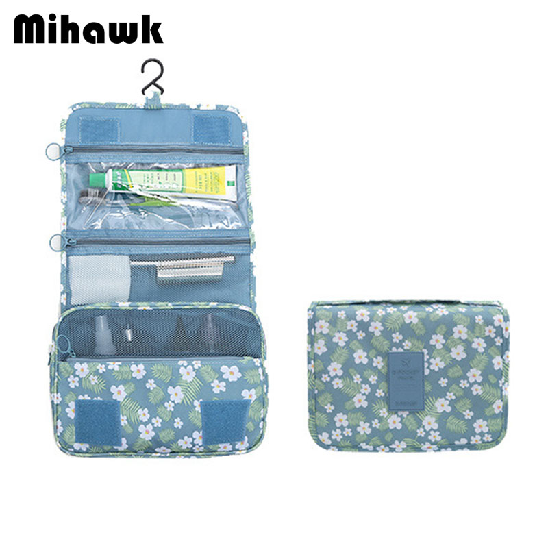 Us 8 24 25 Off Mihawk Women S Hanging Cosmetic Bag Men Travel Makeup Case Wash Pouch Toiletry Tools Storage Organizer Accessories Supplies In
