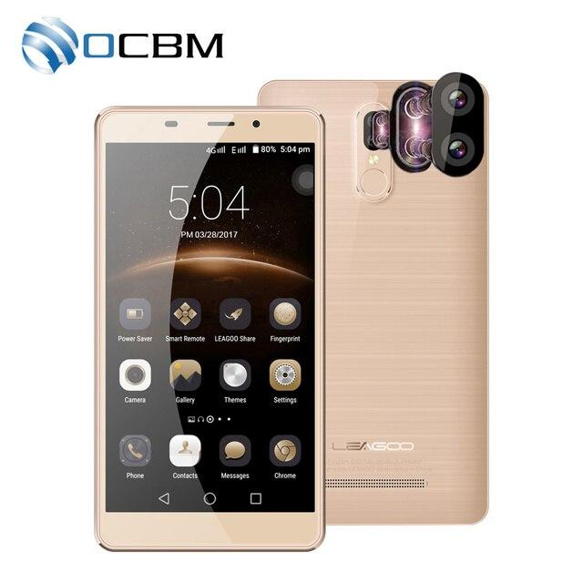 """Оригинальный leagoo M8 Pro 4 г LTE мобильный телефон Android 6.0 MT6737 4 ядра 5.7 """"HD 2 ГБ Оперативная память 16 ГБ Встроенная память 13.0MP отпечатков пальцев"""