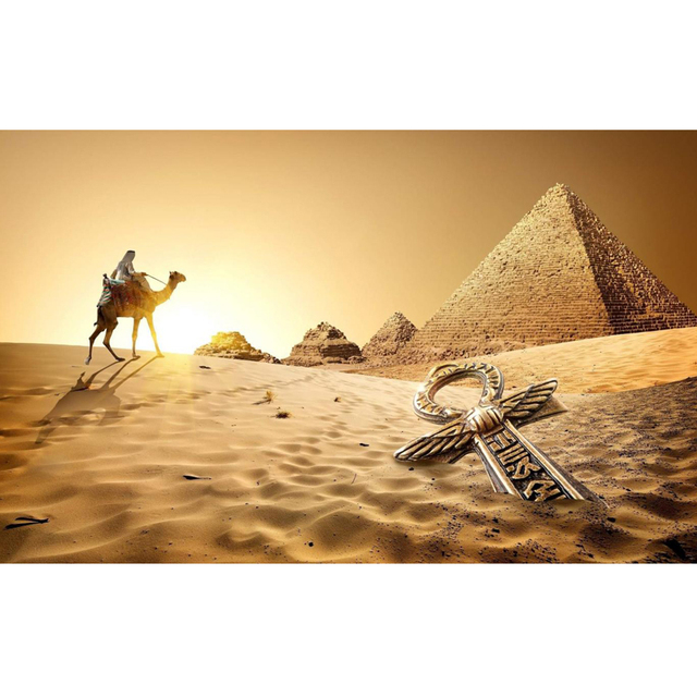 BRODERIE DIAMANT MONUMENT PYRAMIDE