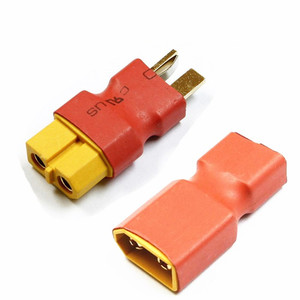 RC XT60 Female To T plug Male / XT60 Male To Deans Plug Female T Connector Adapter Car Plane Lipo Battery