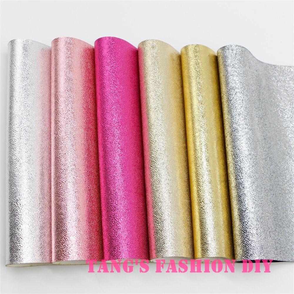 12 шт.-20X22 см блестящие маленькие точки LEAHTER/Синтетическая кожа (можно выбрать цвет)