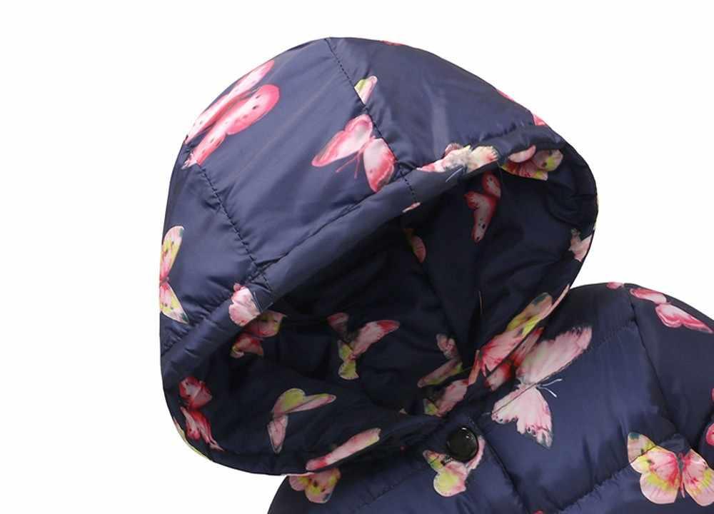 Bebé niño niña Niño de invierno gruesa chaqueta con capucha a prueba de viento niñas abrigo chaqueta niños abrigo bebe fille
