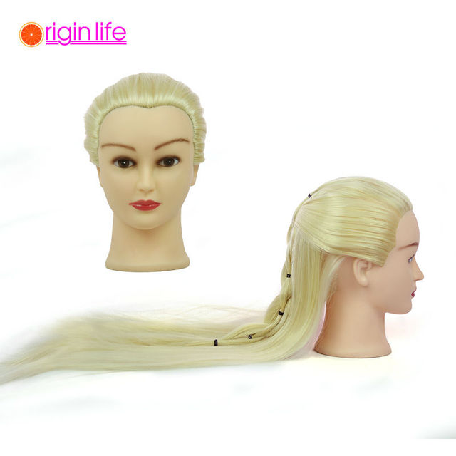 Us 2899 Free Shipping Training Head Mannequin Hairdressing Mannequins Doll Heads Wooden Dummy Woman Bootees Hair Styling Mannequin Heads In