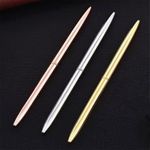 Роскошная шариковая ручка высокого качества 501, новая разноцветная тонкая Шариковая ручка для школьного и студенческого офиса