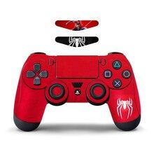 1 Pcs Camo Aufkleber Für Sony PlayStation4 Spiel Controller Projekt Dünne Für PS4 PS4 Pro Mit LED Licht Bar Aufkleber