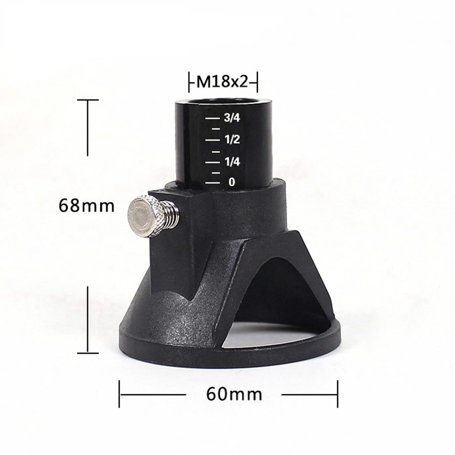 68x60mm Dremel Accessories Located Horn Dremel Drill Dedicated Locator For Dremel Drill Rotary Accessories 1PC