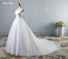 afc801c7c4074 ZJ9008 haute qualité paillettes sans bretelles mode blanc ivoire robes de  mariée de mariage grande taille