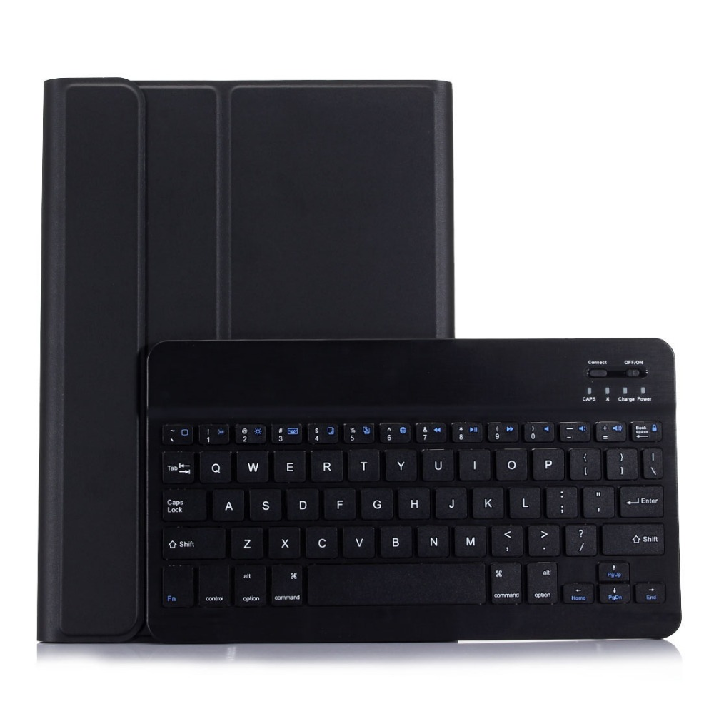 New 2017 For iPad 9.7 A1822 A1823 Wireless Bluetooth Keyboard + PU Leather Cover Protective Smart Case + Film + Stylus
