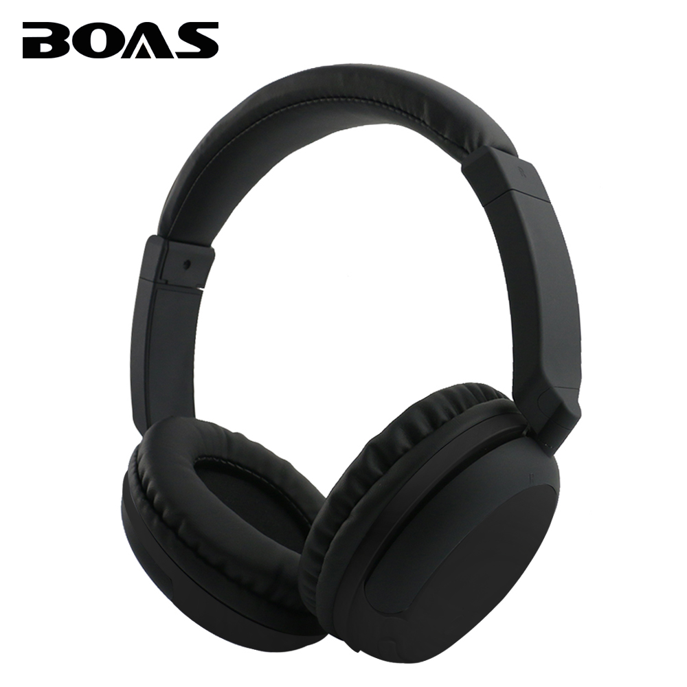 BOAS Over Ear Bluetooth Headphone Wireless Rotary Stereo Comfortable Handfree Headset AUX Earphone with MIC for iPhone Xiaomi PC boas wireless bluetooth earphone hands free earbud earpiece car charger usb headsets with mic 2 in 1 headset for iphone xiaomi