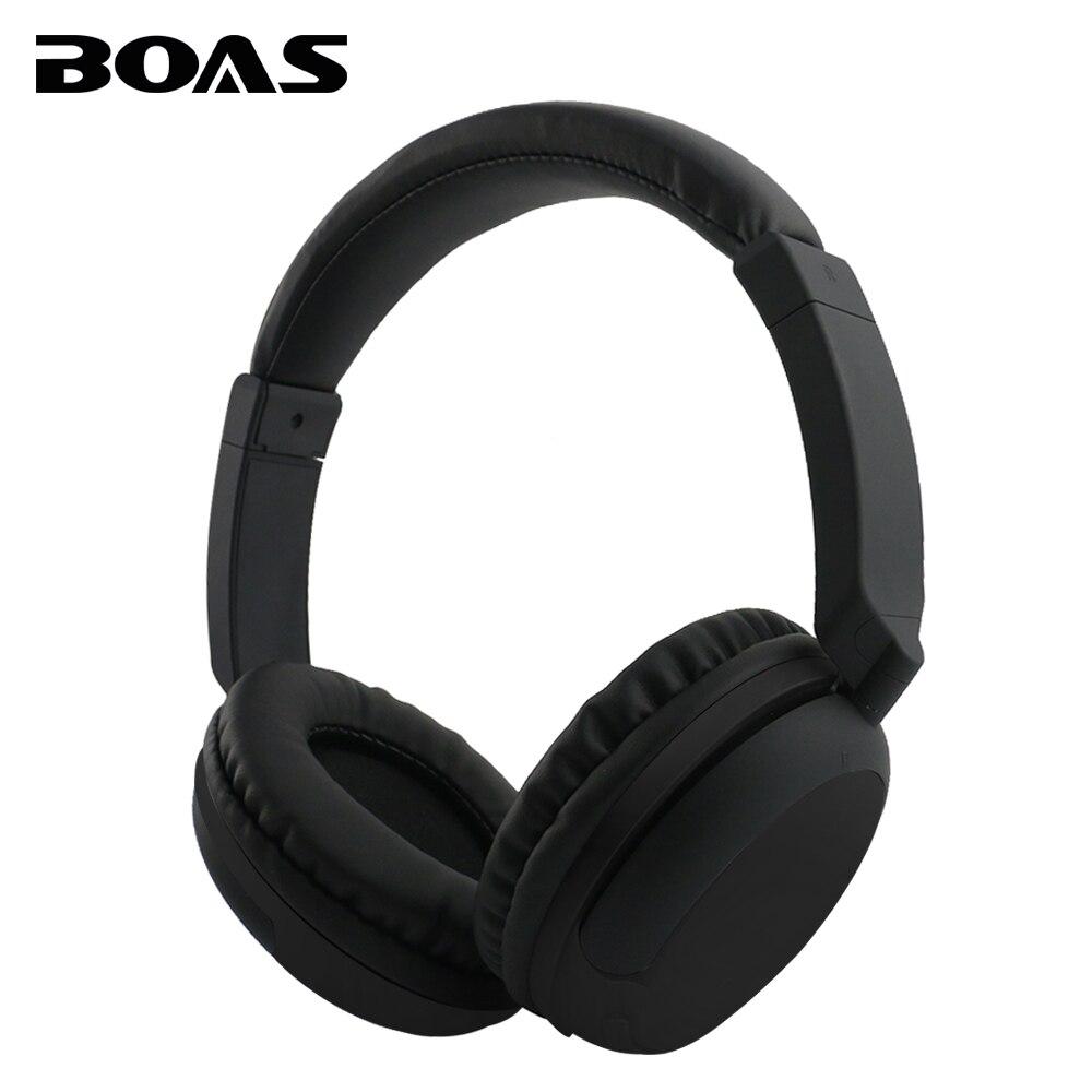 bilder für BOAS Über Ohr Bluetooth Kopfhörer Drahtlose Rotary Stereo Komfortable Handfree Headset AUX Kopfhörer mit MIC für iPhone Xiaomi PC