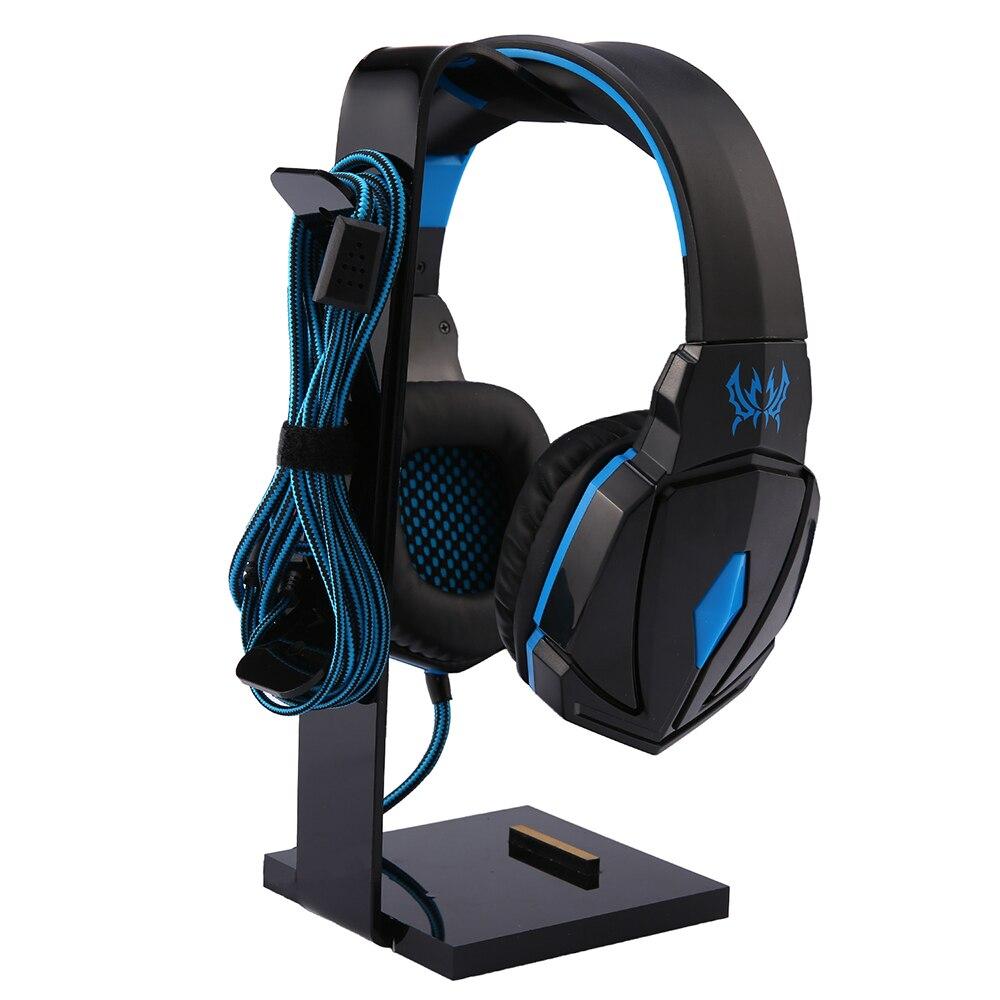 Universal Kopfhörer Acryl Headset Kopfhörer Ständer Halter Display für Kopfhörer halterung für ipad Halter Schwarz Rack Aufhänger