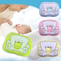 Newborn Infant Neck Support Bedding Print Bear Shape Baby Shaping Nursing Soft Cartoon Baby Pillow T0030