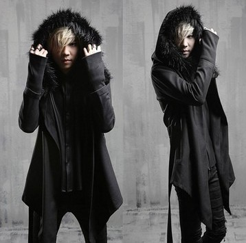 Men's 2017 new arrival long fashion hooded trench Men winter warm outerwear coat