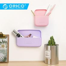 ORICO Wall-mounted Storage Case Bag Colorful Silicone Protective Box Sundries Container For Earphone Data Cable Charger