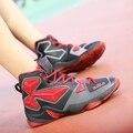 Большой Размер Высокие Верхние Спорт Корзина Обувь Мужчины На Открытом Воздухе Дышащие Повседневная Обувь Для Ходьбы Мужские Тренеры Суперзвезда Basquete Zapatos 13