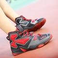 Tamaño grande de Alta Top Deportivos Cesta Zapatos Hombres Al Aire Libre Zapatos Transpirables Zapatos Que Caminan Ocasionales Mens Entrenadores Superestrella Basquete 13