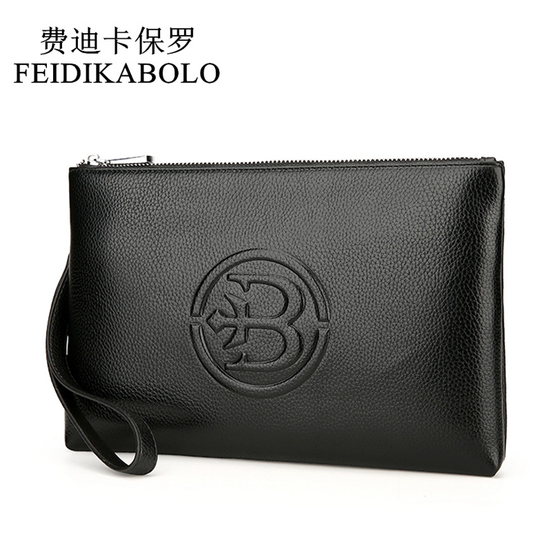 FEIDIKABOLO Large Capacity Leather Man Wallet Carteira Masculina Purse Men Wallets Male Clutch Wallet Men Wallets Handy Bags feidikabolo brand zipper men wallets with phone bag pu leather clutch wallet large capacity casual long business men s wallets