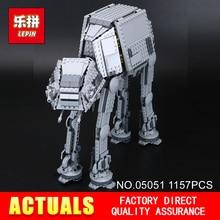 Lepin 05051 Star Serie Spielzeug Wars Force Wecken Die ZU Transportmitteln ZU Gepanzerte Roboter 75054 Bausteinziegelsteine Pädagogisches DIY