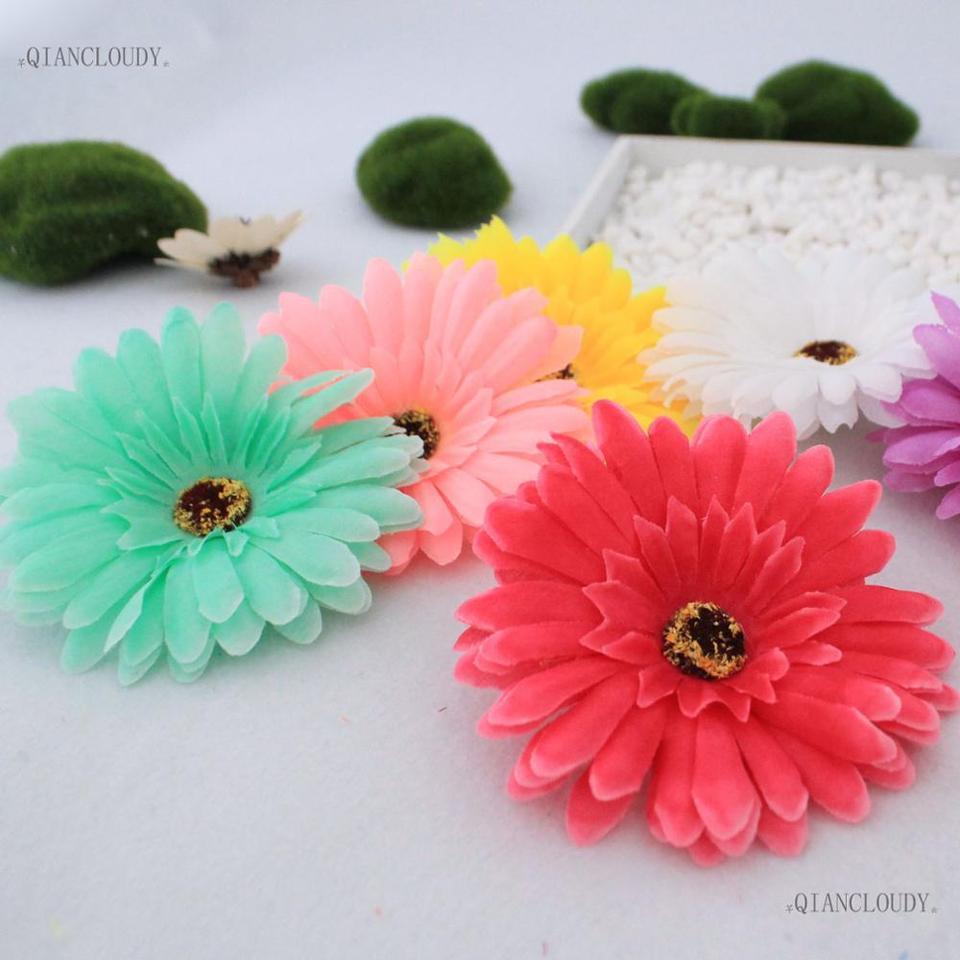 Guirnalda Decorativa con Margaritas Artificiales Color Verde Ginger Ray