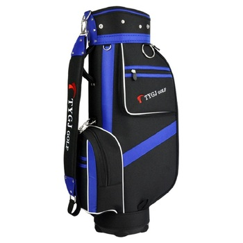 Affordable PGM Genuine Golf Sport Package Standard Caddy Men Golf Cart Bag Professional Ball Staff Bag Cover with Snake Lines Waterproof PU