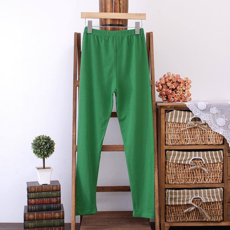 10 Renkler Kadın Tayt Artı Boyutu 3 4 XL Ince Ince Elastik Sıska - Bayan Giyimi - Fotoğraf 4