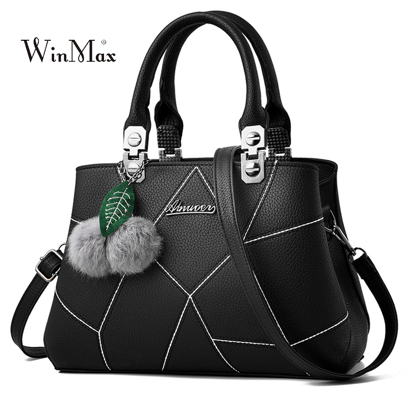 Hairball Handbags Women Shoulder Bag Luxury Handbag Ladies Tote Bags For Women 2018 Handbags Messenger Bags Female Bolsas Sac richmond denim футболка