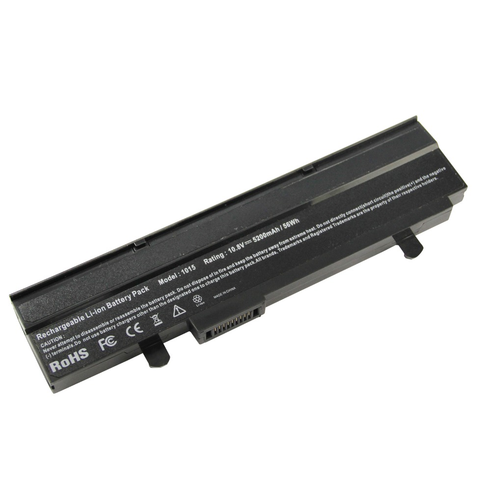 5200mAh for Asus Laptop battery A31-<font><b>1015</b></font> <font><b>A32</b></font>-<font><b>1015</b></font> EEE PC <font><b>1015</b></font> 1015P 1015PE 1016 1016P 1215 image
