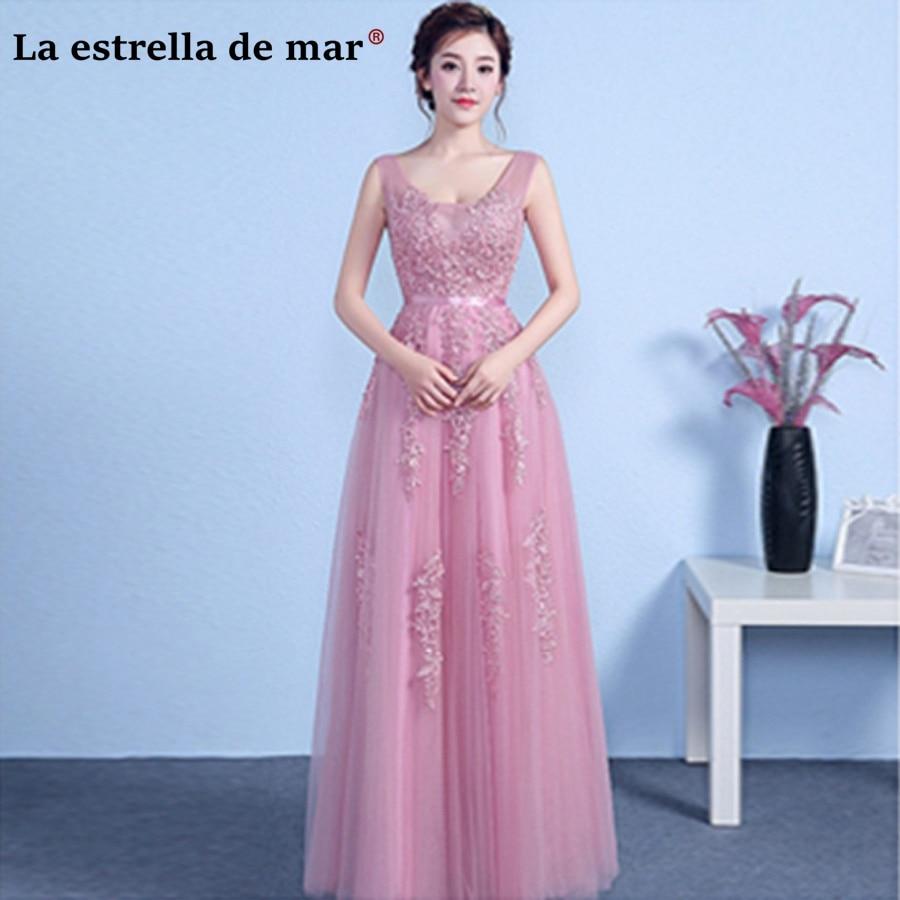 Robe demoiselle d'honneur2018 Sexy V neck Tulle pear see burgundy blush Silver   bridesmaid     dresses   long Cheap wedding gown   dress