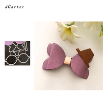 JCarter Bow Tie Top Hat Metal Cutting Dies for Scrapbooking DIY Album Embossing Folder Cards Maker Photo Frame Template  Stencil