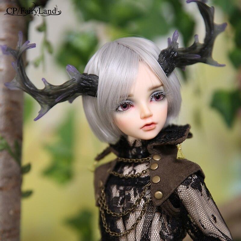 New Arrival Minifee Altis BJD lalki 1/4 Fairyline dźwigi samojezdne Faun Antler róg opcje Fantasy mężczyzna wróżki unikalna figura zabawki dla dziewczyny FL w Lalki od Zabawki i hobby na  Grupa 1