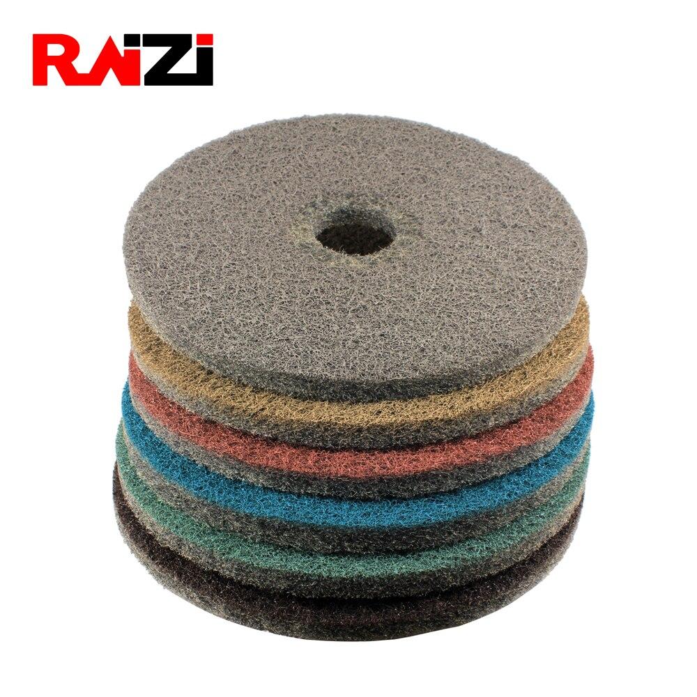 Raizi 1 Pc 20 Inch Diamond Impregnated Floor Polishing Burnishing Pads/ Discs For Concrete Grinding Machine