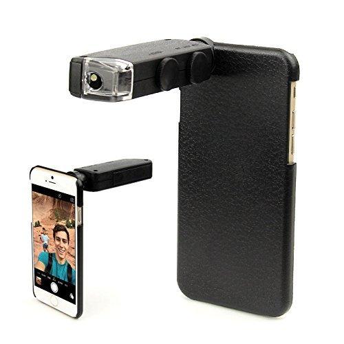 Teléfono Kit de Lentes Lentes Lupa 60X-100X de Zoom Digital Microscopio Con Led Caso para samsung galaxy note 2 3 4 5 7 s4 s5 s7 S6
